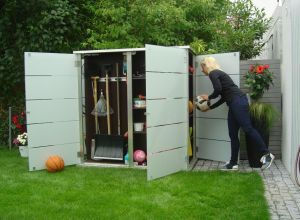 Gardomo Alternative / Gartenschrank aus Glas