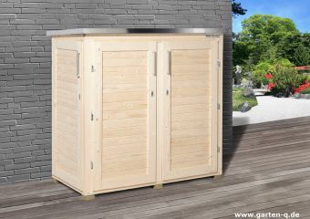 gartenger teschrank moderner ger teschrank aus holz garten q gmbh. Black Bedroom Furniture Sets. Home Design Ideas