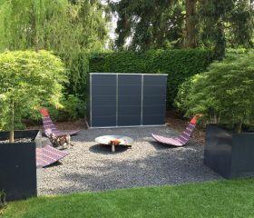 Gartenhaus Flachdach Modern Garten Q Gmbh