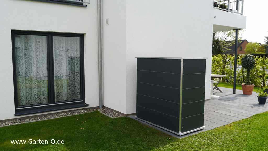 gartenschrank metall kunststoff garten q gmbh. Black Bedroom Furniture Sets. Home Design Ideas