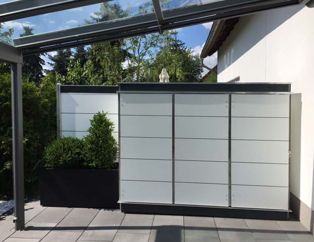terrassenschrank wetterfest modern garten q gmbh. Black Bedroom Furniture Sets. Home Design Ideas