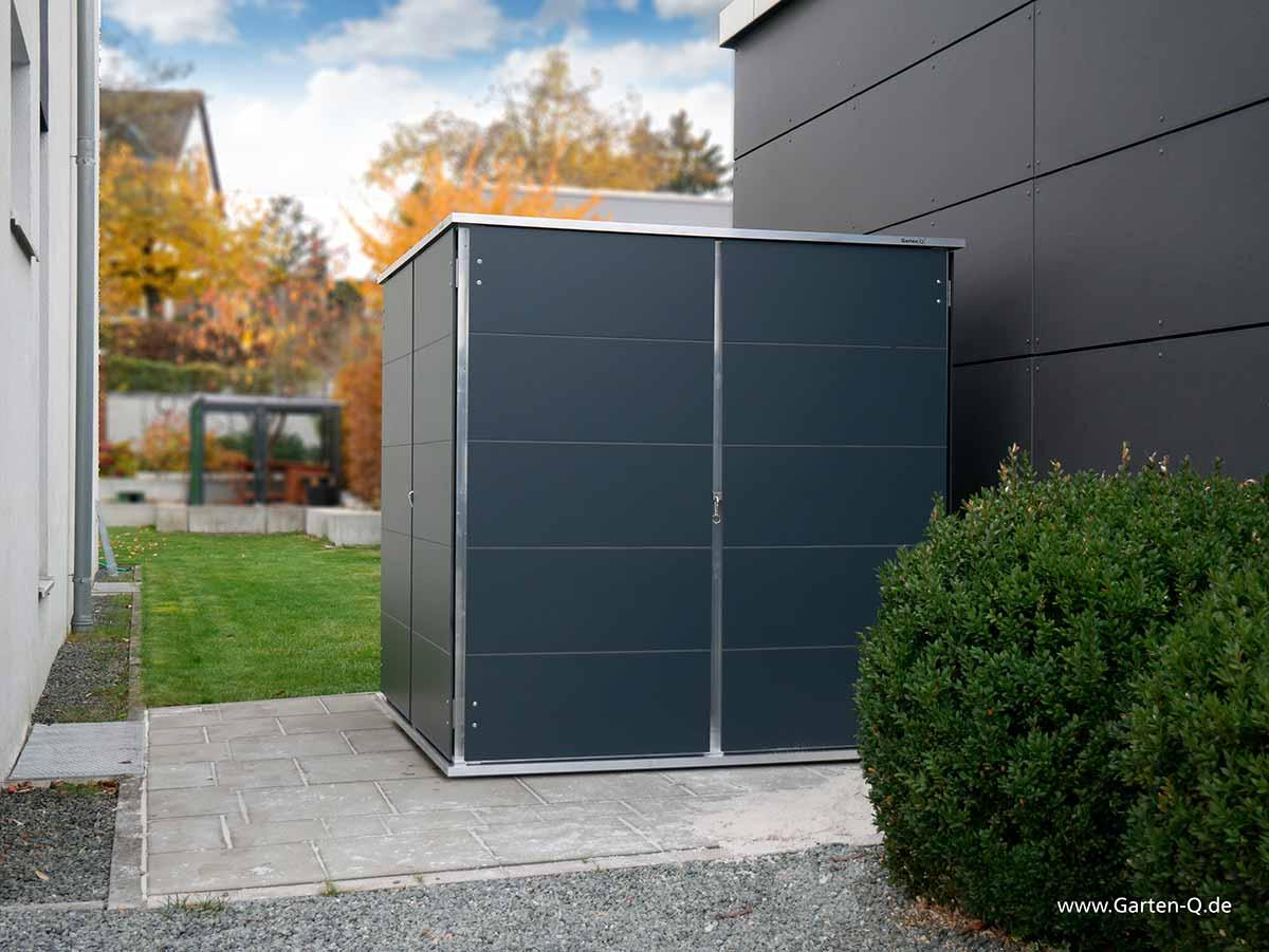 gartenhaus klein | cube - garten-q gmbh