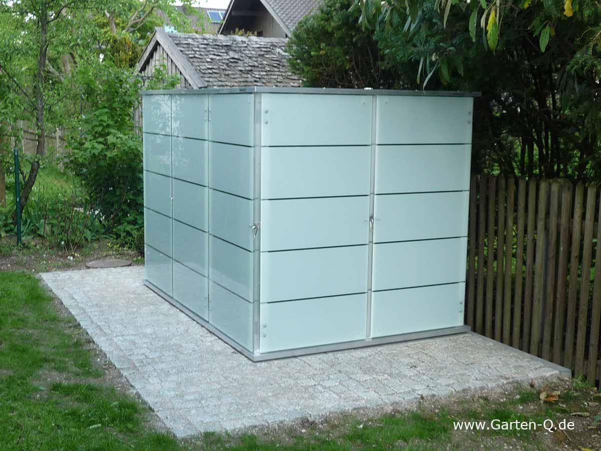 Gartenhaus Flachdach | modern - Garten-Q GmbH