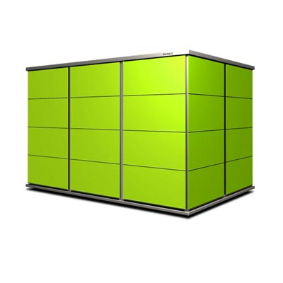 Gartenhaus Lime-green