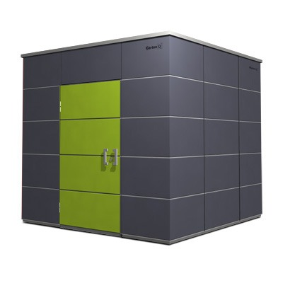 cube gartenhaus trespa my blog. Black Bedroom Furniture Sets. Home Design Ideas