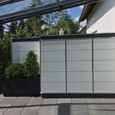 terrassensichtschutz sichtschutzwand aus verschiedenen materialien garten q gmbh. Black Bedroom Furniture Sets. Home Design Ideas