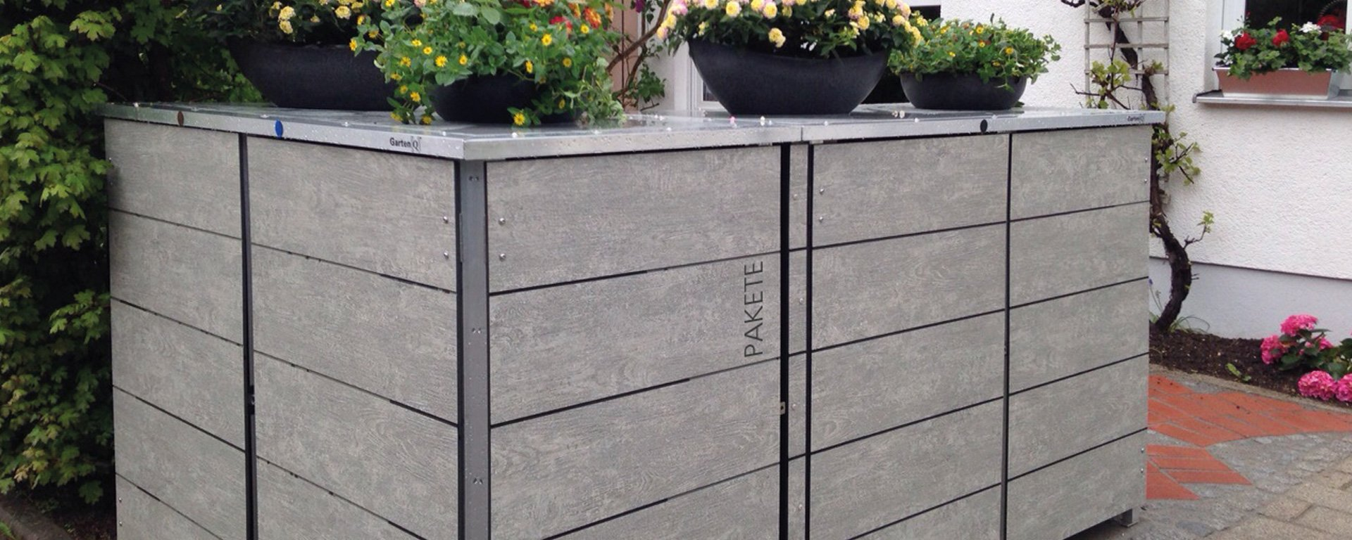 m lltonnenbox design kollektion ideen garten design als. Black Bedroom Furniture Sets. Home Design Ideas