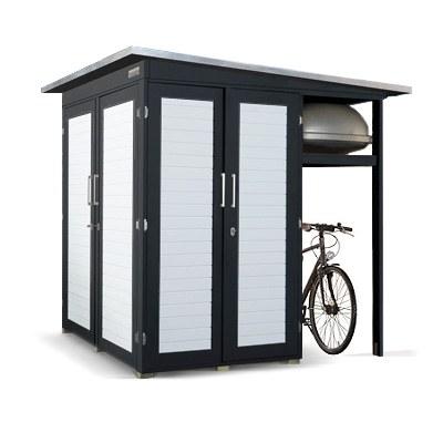 gartenhaus pultdach ger tehaus pultdach garten q gmbh. Black Bedroom Furniture Sets. Home Design Ideas