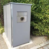 Coole Idee Mullbox Mit Integriertem Briefkasten Garten Q Gmbh