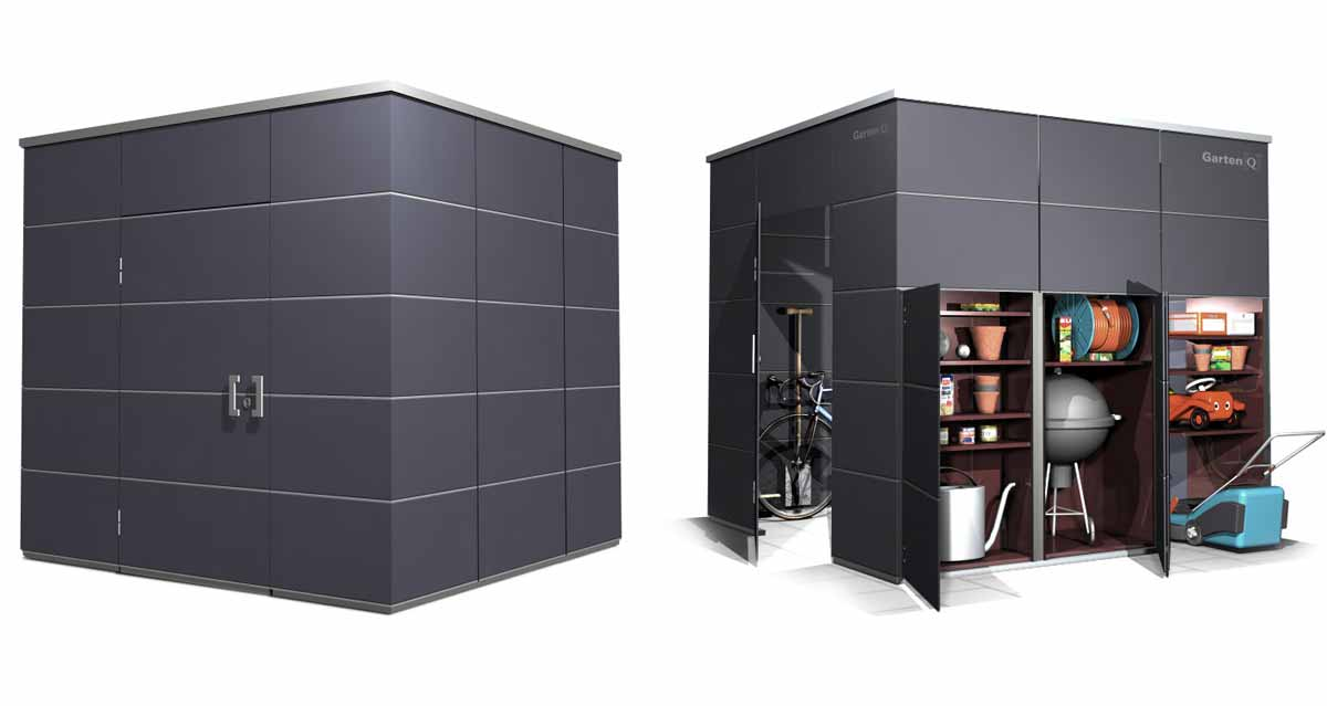 design gartenhaus garten q garten q gmbh. Black Bedroom Furniture Sets. Home Design Ideas