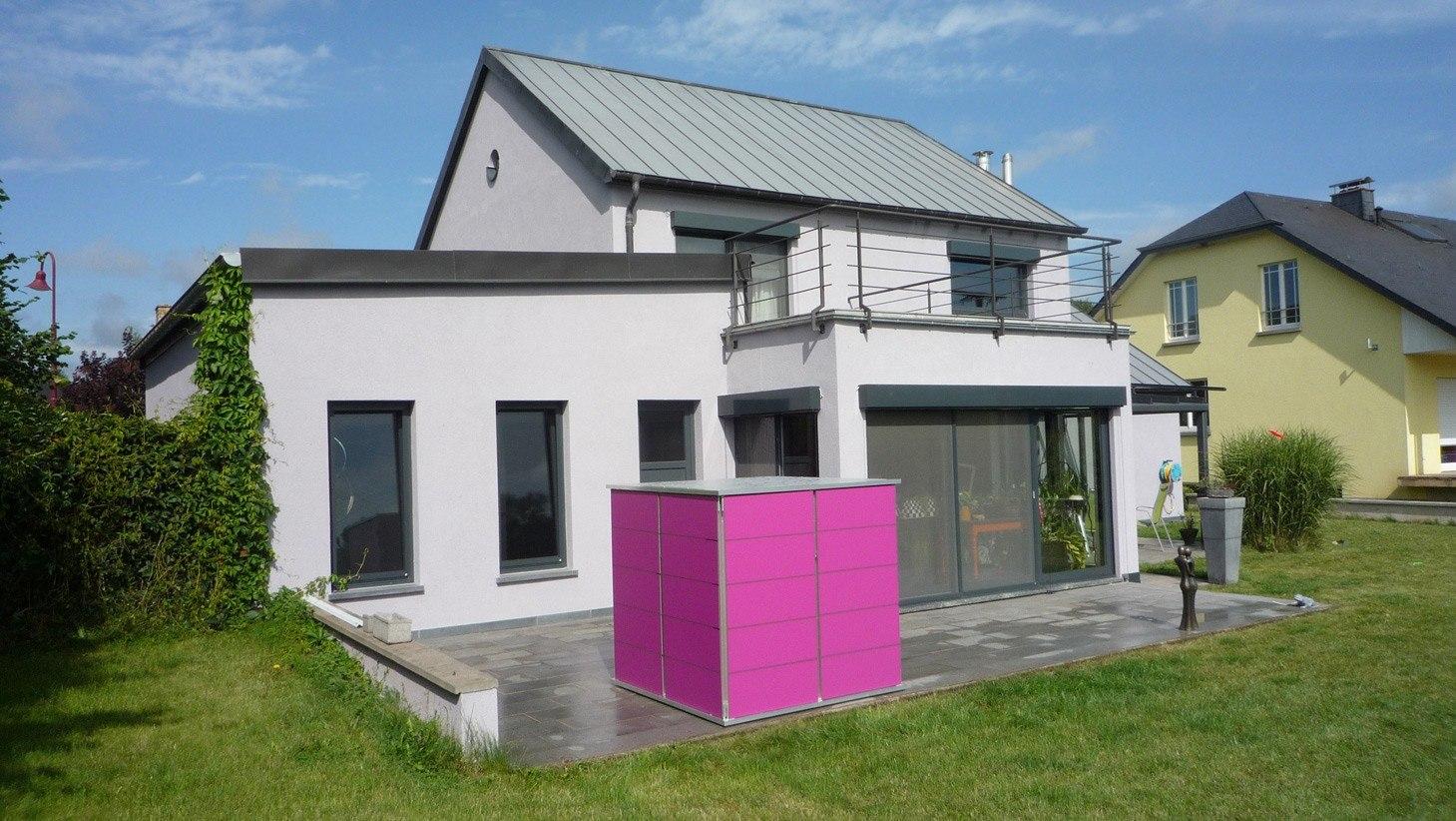 Gartenhaus modern garten q garten q gmbh - Alternative gartenhaus ...