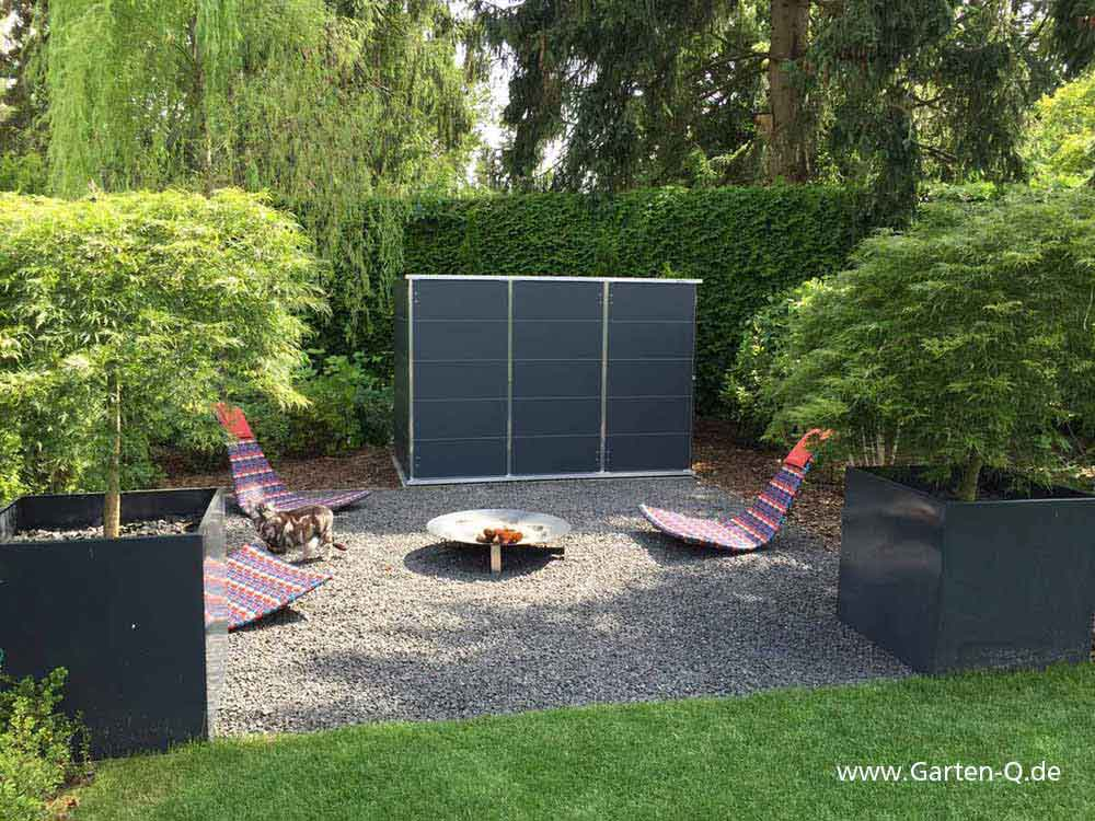 gartenschuppen klein swalif. Black Bedroom Furniture Sets. Home Design Ideas