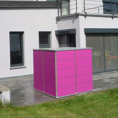 gartenhaus klein cube garten q gmbh. Black Bedroom Furniture Sets. Home Design Ideas