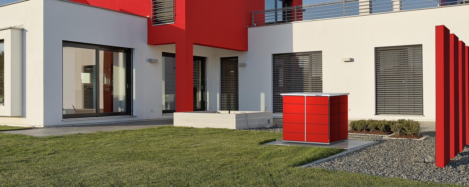 gartenhaus klein cube garten q gmbh. Black Bedroom Furniture Sets. Home Design Ideas