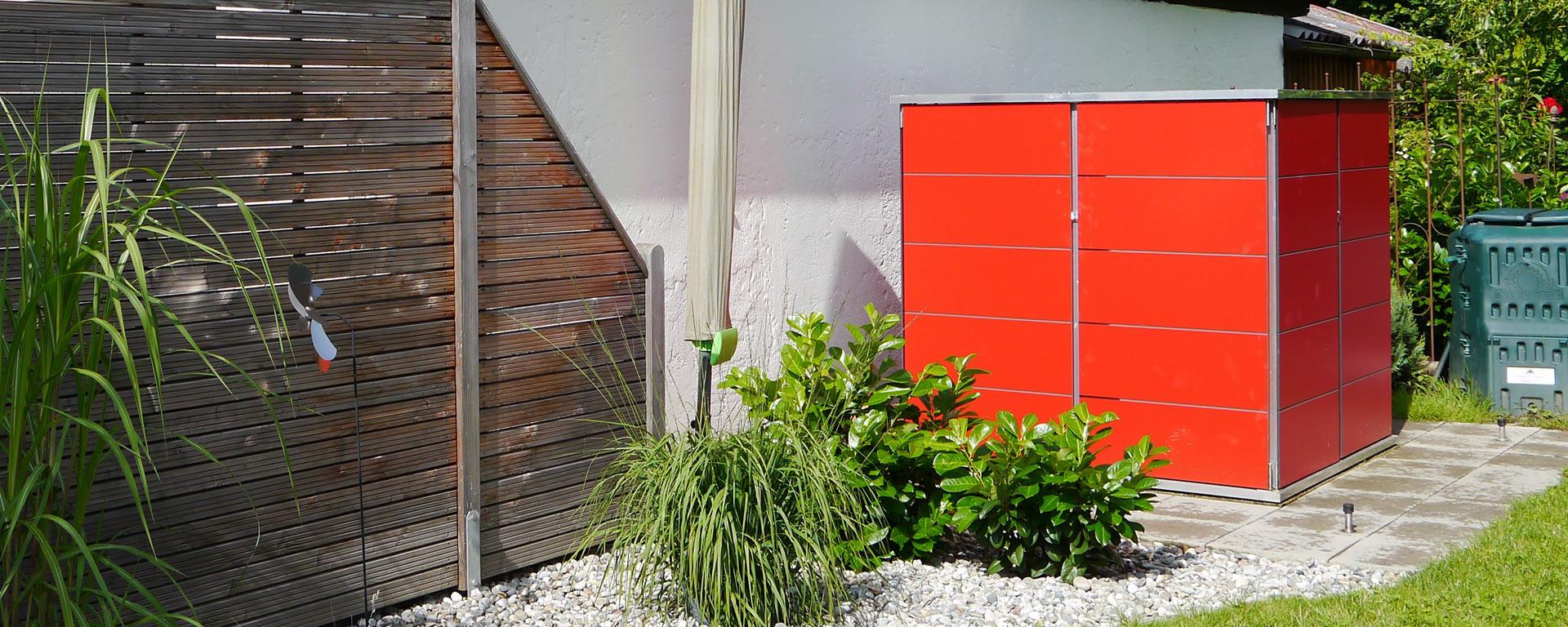 Gartenhaus klein cube garten q gmbh - Alternative gartenhaus ...
