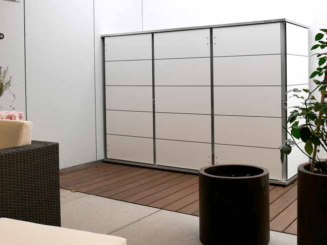 design gartenhaus modern garten q gmbh. Black Bedroom Furniture Sets. Home Design Ideas