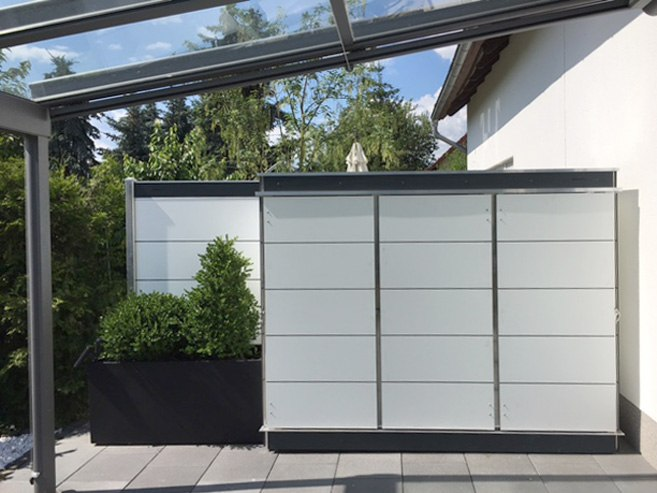 gartenhaus gartenschrank garten q gmbh. Black Bedroom Furniture Sets. Home Design Ideas