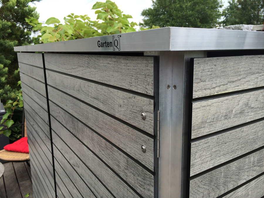 Gartenschrank Wetterfest gartenschrank | metall & kunststoff - garten-q gmbh